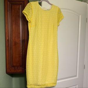 Bisou Bisou Yellow Dress